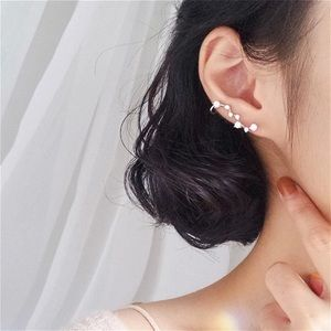 Sterling Silver Cubic Zirconia Ear Climbers
